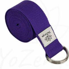 Paarse YoZenga yogariem | yogastrap | Purple