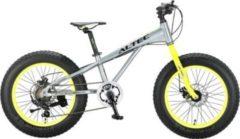 20 Zoll Jungen Fat Mountainbike 6 Gang Hoopfietsen... grau-gelb