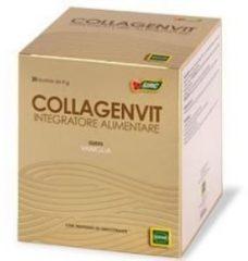 Sofar Collagenvit integratore alimentare di vitamine C ed E collagene 30 bustine vaniglia