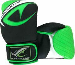 Punch Round™ Punch Round No-Fear Bokshandschoenen Zwart Neo Groen 16oz