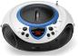 Lenco SCD-38 - Draagbare radio CD-speler met USB aansluiting - Wit/Blauw