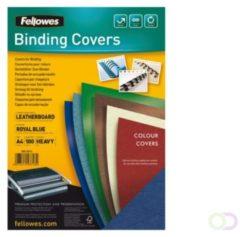 Fellowes Delta A4 Papier Blauw 100stuk(s) binding cover