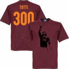 Bruine Retake Totti 300 Serie A Goals T-Shirt - L