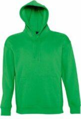 SOLS Slam Unisex Hooded Sweatshirt / Hoodie (Kelly Groen)