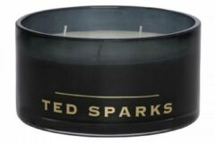 Transparante Ted Sparks geurkaars Magnum - White Tea & Chamomile