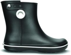 Crocs - Women's Jaunt Shorty Boot - Rubberen laarzen maat W5, zwart/grijs