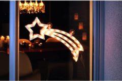 LED-raambeeld Energielabel: A (A++ - E) Komeet Warm-wit LED Warm-wit Konstsmide 2160-010