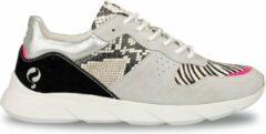 Q1905-Quick Dames Sneaker Hillegom - Wit/Multi