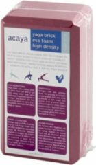 Acaya yoga blok rood