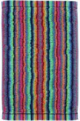 Cawö Cawo Lifestyle Streifen Gastendoekje 7048 Multi-84 30x50