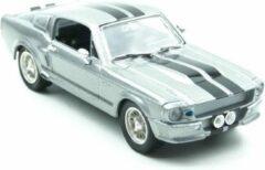 Groene Greenlight Ford Mustang Eleanor Gone in Sixty Seconds 1967 Grijs 1:43 - Nieuw