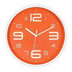 Oranje SensaHome Wandklok - Stille Uurwerk - Diameter 25cm - TM20014 - 1