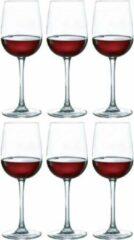 Transparante Luminarc 12x Stuks wijnglazen voor rode wijn 580 ml - Versailles - Wijn glazen