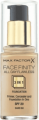 Zandkleurige Prada Max Factor Face Finity 3 in 1 Foundation 30ml