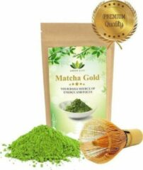 Matcha Winkel Japanse Premium Matcha Thee - 50 gram - Inclusief Matcha Klopper - Vol met Antioxidanten, Vitaminen & Mineralen