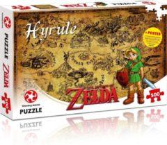 Bruine Winning Moves The Legend of Zelda - Hyrule puzzel - 500 stukjes
