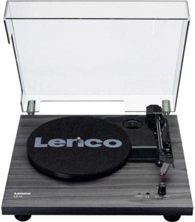 Afbeelding van Lenco LS-10BK Platenspeler met Ingebouwde Speakers MDF/Zwart