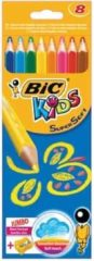 Kleurpotlood Bic kids driehoekig supersoft