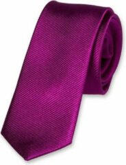 Paarse E.L. Cravatte Kinderstropdas - Violet - 100% Zijde