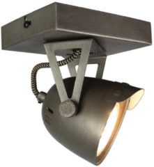LABEL51 - LED Spot Cap 1-lichts 14x10x14 cm Burned Steel Metaal