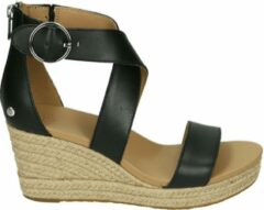 UGG Australia UGG HYLDA W - Volwassenen Sandalen met hakDames Sandalen - Kleur: Zwart - Maat: 40