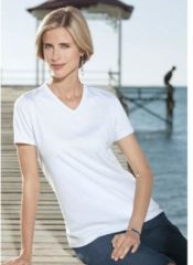 Witte Classic Basics shirt in single-jerseykwaliteit