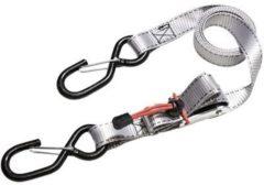 Zilveren MasterLock Spanbanden - 4 stuks - 1,8mx25mm - Extra stevige bevestiging - 3062EURDAT