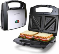 Zwarte Aigostar Lamo 30RFU - Tosti ijzer / Sandwichmaker