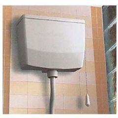 Wisa opbouw spoelreservoir, wit, spoelreservoir kunststof plaats wateraansluiting li