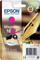 Epson inktcartridge 16XL, 450 pagina's, OEM C13T16334012, magenta