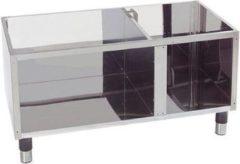 Zwarte Merkloos / Sans marque Modular 600 compact onderkast 60/120 B