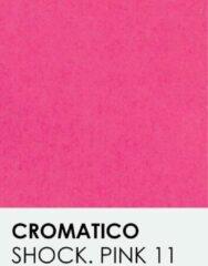 Roze Transparant vellen notrakkarton Cromatico shocking pink 12 A4 100 gr.