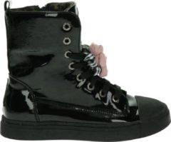 Shoesme BOOTS Meisjes Biker boot - Zwart Lak - Maat 24