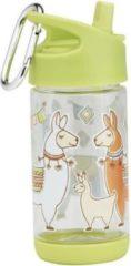 Groene SugarBooger - Flip&Sip Drinkfles - Mama Llama