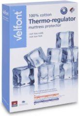 Witte Velfont Outlast Matrasbeschermer Thermo Regulator -Size : 80x190/200