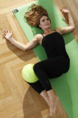 Pilates gymnastiek bal - Ø 23 cm groen Fitnessbal YOGISTAR