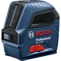 Bosch Professional GLL 2-10 Lijnlaser Zelfnivellerend, Incl. tas Reikwijdte (max.): 10 m Kalibratie conform: Fabrieksstandaard (zonder certificaat)
