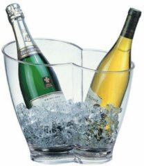 APS Wijnkoeler | 2-Vaks | 4 Liter | Transparant