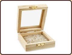 Witte Ruben Robijn Mini Bergkristal oplaadmix - hout