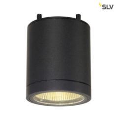Antraciet-grijze SLV ENOLA C plafondlamp antraciet 1xLED 2000-3000K