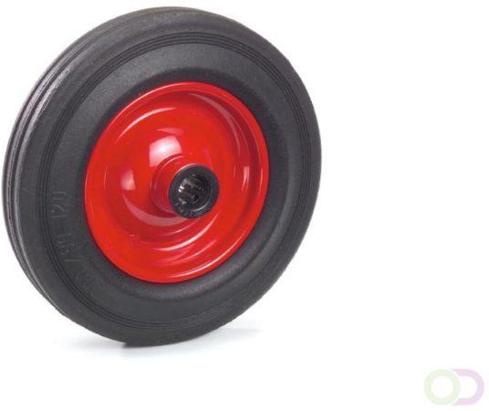 Afbeelding van Fetra Massief rubber band 200 x 50 mm, Stalen velg - rood
