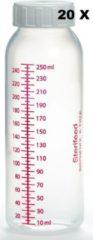 Transparante Sterifeed: Moedermelk bewaar fles 20 stuks 250 ml (plastic)