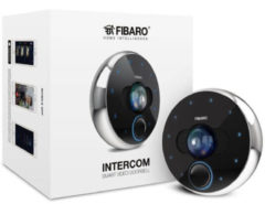 Fibaro Intercom 4MP Schwarz - Weiß Video-Zugangssystem FGIC-001