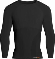 Knapman Knap'man Pro Performance Base Layer Shirt Thermo Active 2.0 Zwart | Maat XL