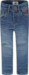Blauwe Tumble n Dry Tumble 'N Dry Jongens Broek TND-FRANC - denim medium used - maat 68