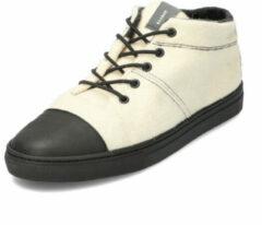 BAABUK Wol-sneaker BLACK NOSE, offwhite 44