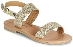Gouden Sandalen Betty London JADALETTE