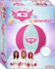 Studio 100 Strandbal K3 Meisjes 33 Cm Roze/turquoise