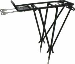 Ostand Bagagedrager Adjust Iii Aluminium Zwart