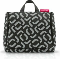 Zwarte Reisenthel Shopping Toiletbag XL signature black Beautycase